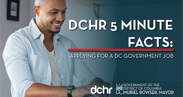 Video on How to Apply to DC Government Jobs