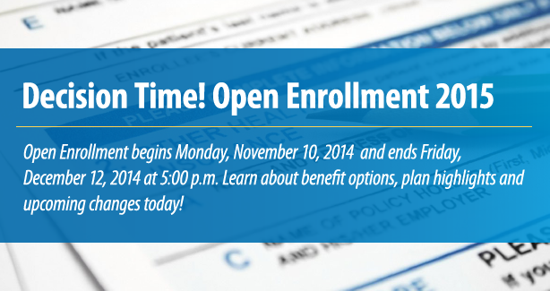 Open Enrollment 2015