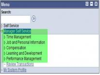MSS PeopleSoft ScreenShot